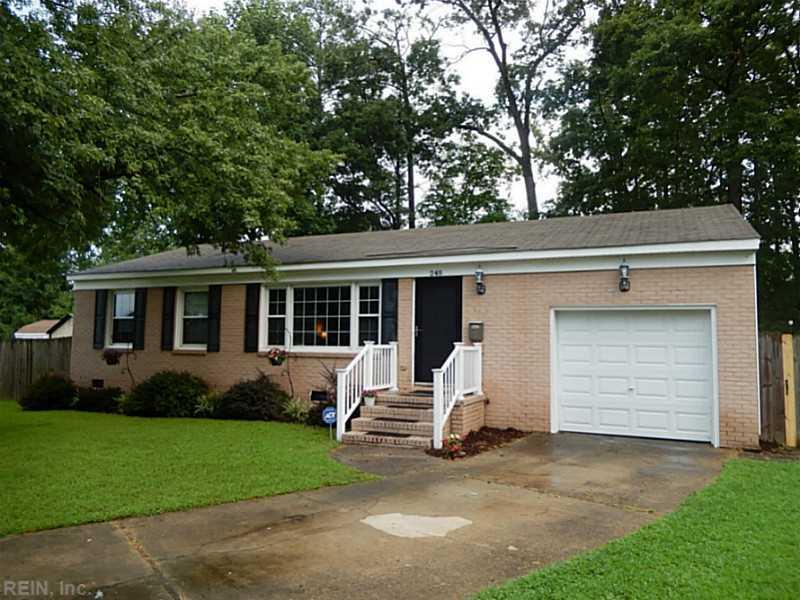 248 Mona Drive, Newport News, VA 23608