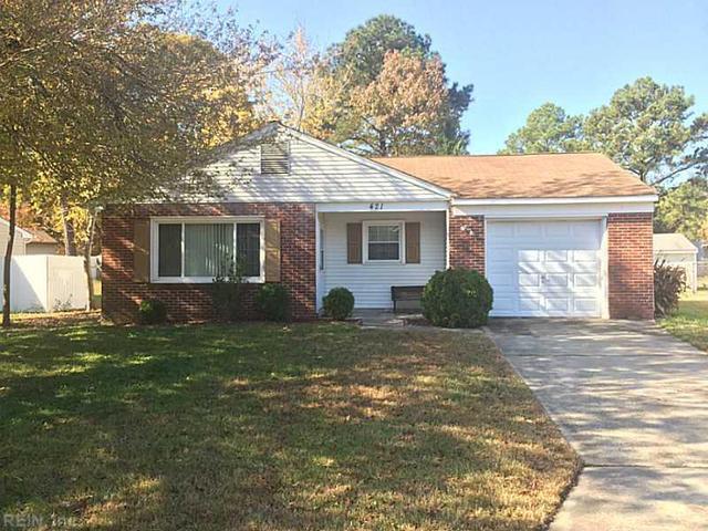 421 Cottonwood St, Newport News, VA 23608