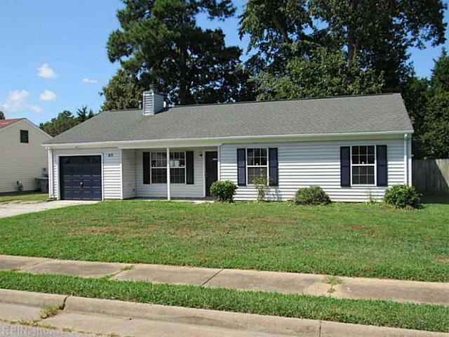 25 Peterborough Dr, Hampton, VA 23666