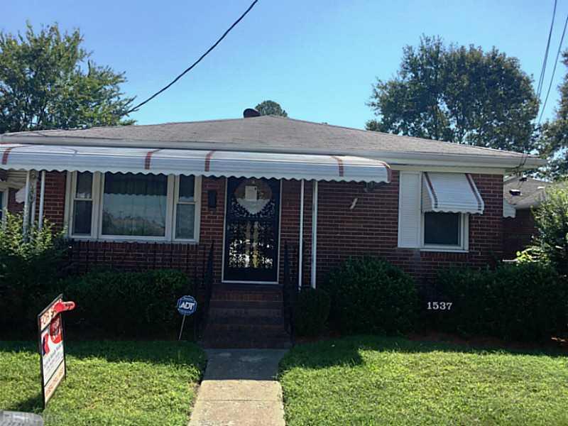 1537 Mount Vernon Avenue, Portsmouth, VA 23707