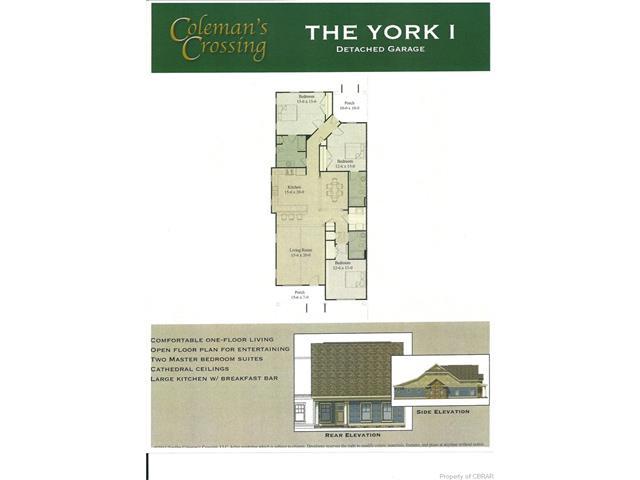York I D Coleman's Crossing Avenue Unit #tbd, Gloucester, VA 23072