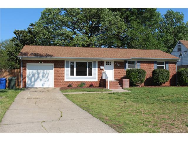 410 Brentwood Dr, Newport News VA 23601