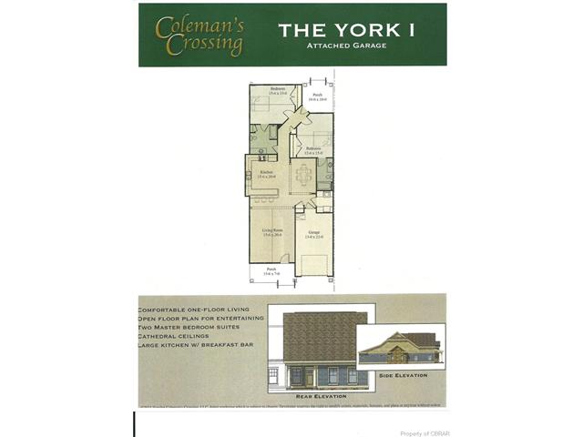 Lot 48 Coleman's Crossing Avenue Avenue Unit #48, Gloucester, VA 23072