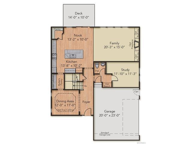 11913 James Overlook Court, Chesterfield, VA 23836