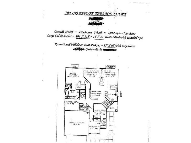 100 Crossfoot Terrace Ct, Henderson, NV