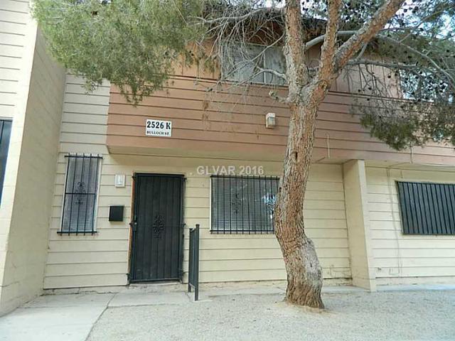 2526 Bulloch St K St #K North Las Vegas, NV 89030