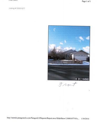 1418 Patricia, Gardnerville, NV