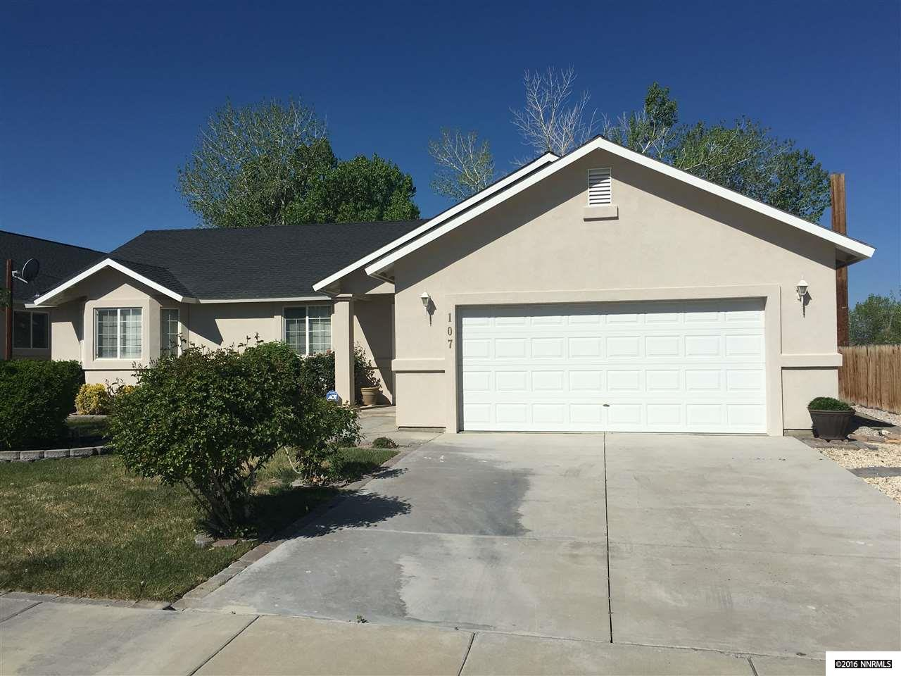 107 Desert Lks, Fernley, NV