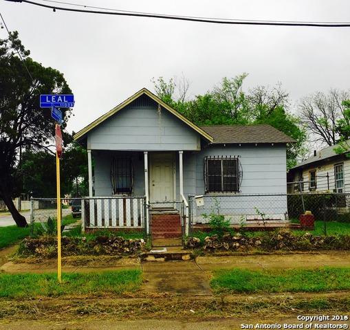 1151 Leal St, San Antonio TX 78207