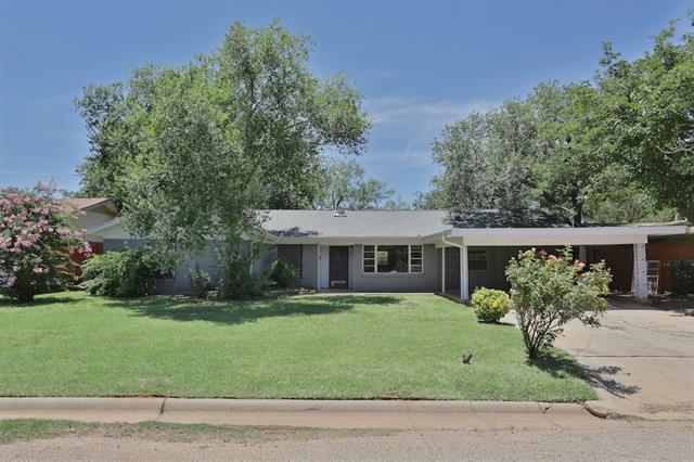 1838 Mimosa Dr, Abilene, TX