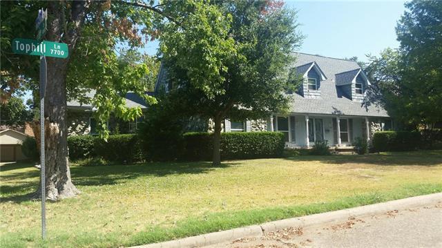 7707 Tophill Ln, Dallas, TX