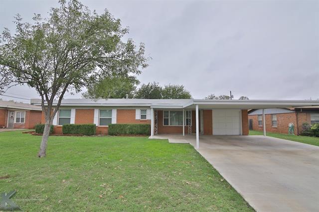726 S La Salle Dr, Abilene, TX