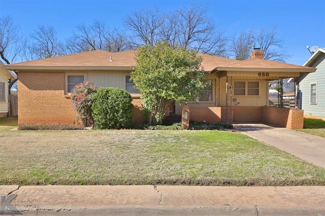 650 Westview Dr, Abilene, TX