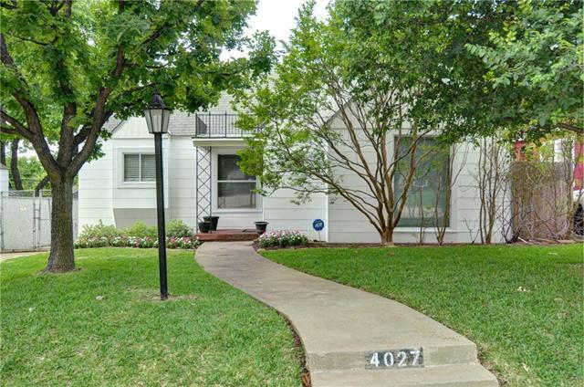 4027 Pershing Ave, Fort Worth TX 76107