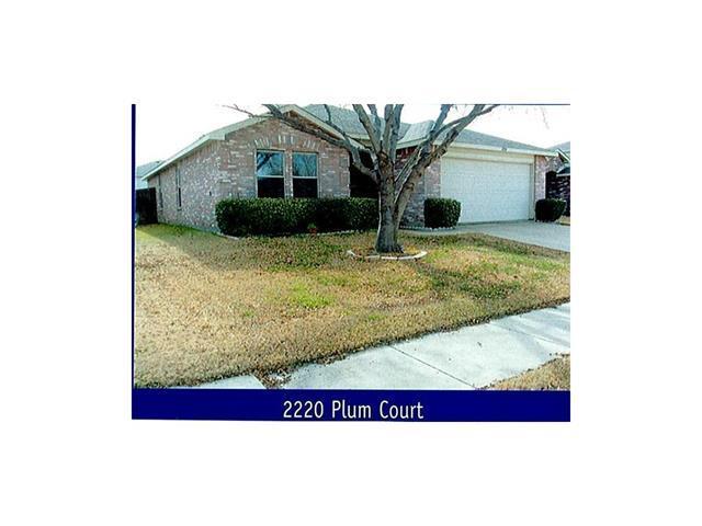 2220 Plum Ct, Little Elm, TX