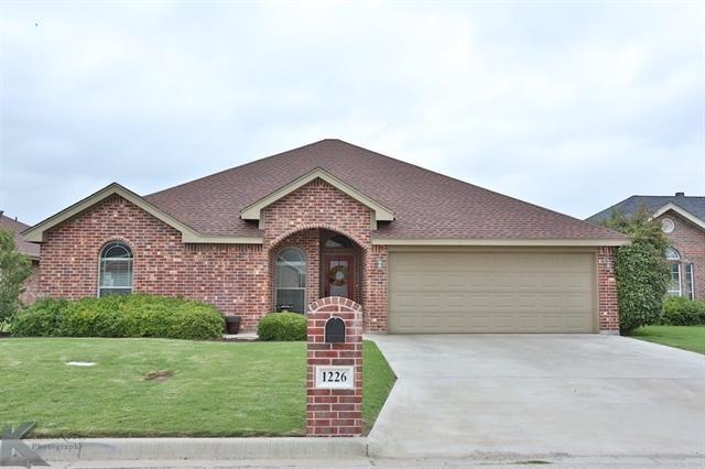 1226 Lewis And Clark Trl, Abilene TX 79602