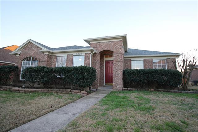 1336 Colgate DrLewisville, TX 75077