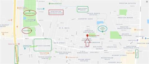75033 Zip Code Map.7675 Mckinney Rd Frisco Tx 75033