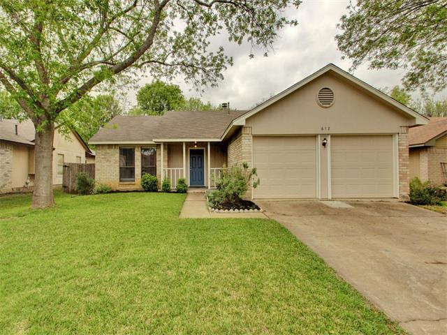 612 Elder WayRound Rock, TX 78664