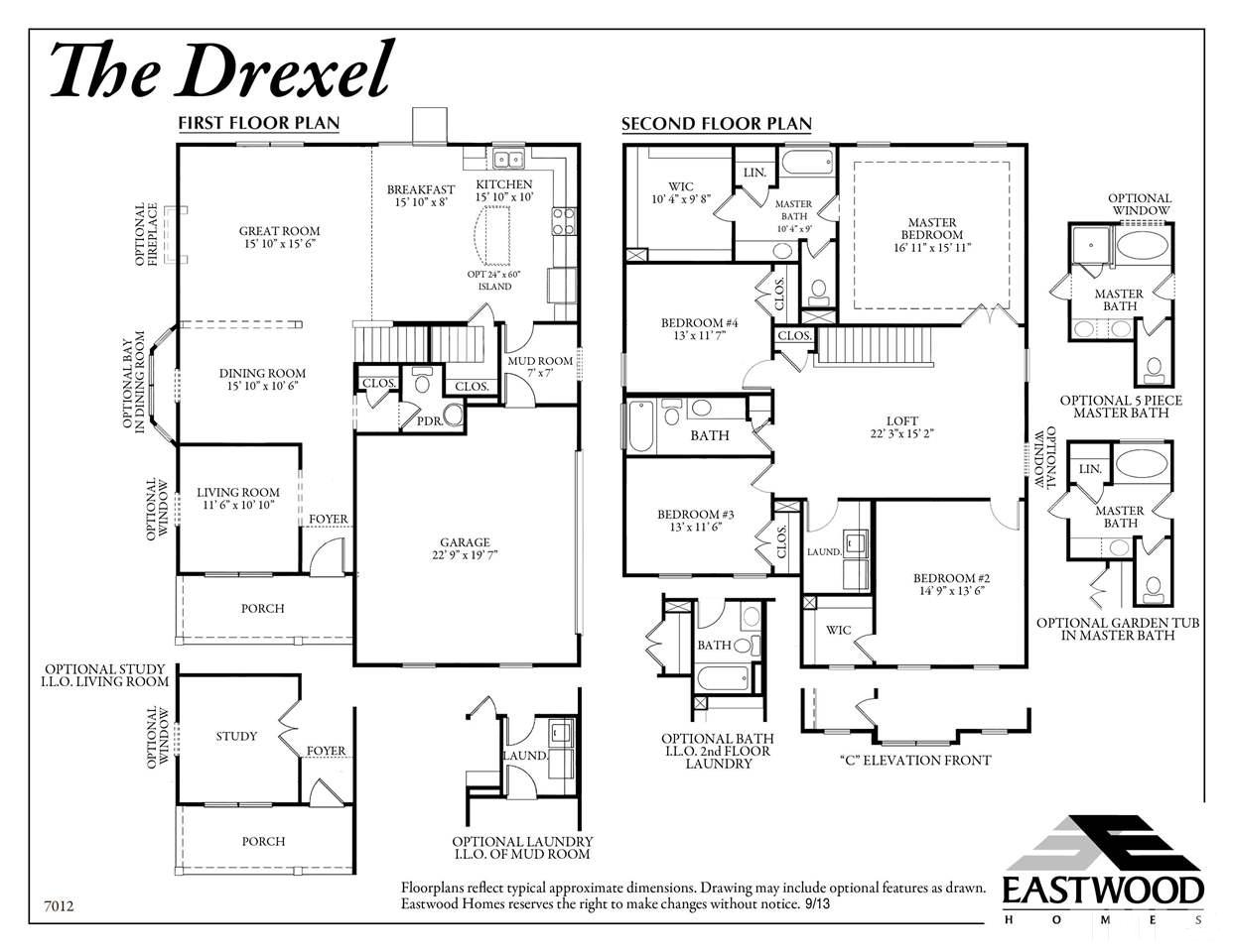 Eastwood Homes Drexel Floor Plan Home Design And Style
