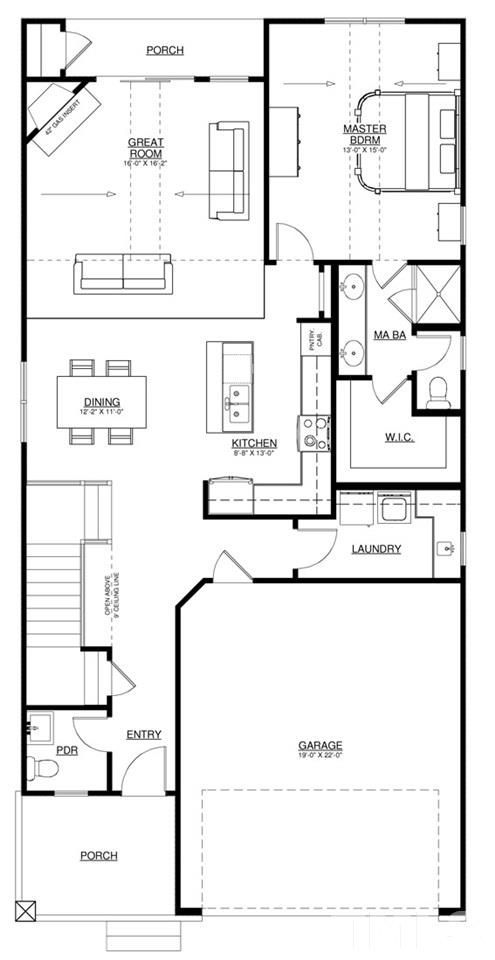 Beazer homes hamilton floor plan for Beazer homes floor plans