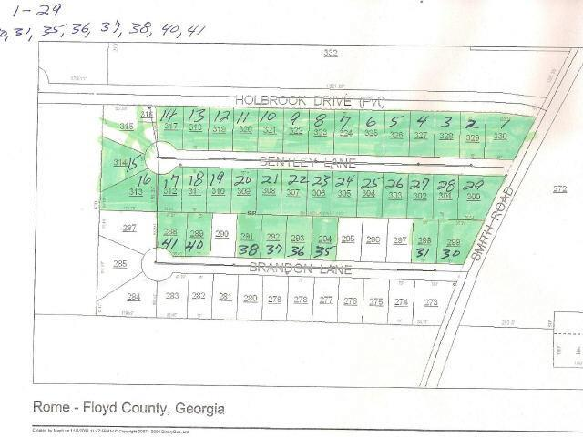 0 Bentley Ln #LOT 16, Rome, GA 30165