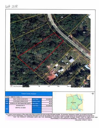 218 Crooked Creek Rd #LOT 218, Eatonton, GA 31024