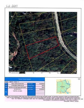 221 Crooked Creek Rd #LOT 221, Eatonton, GA 31024