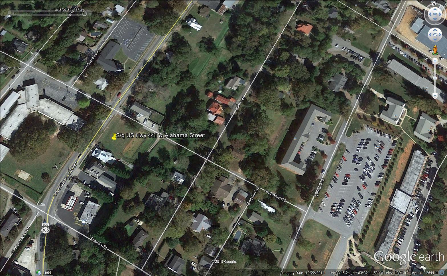 0 Us Highway 441 And Alabama Street #S/Q, Demorest, GA 30535