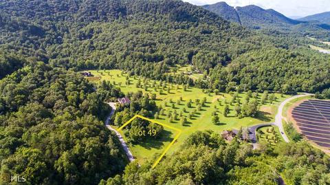 49 Green Meadows Dr, Rabun Gap, GA 30568