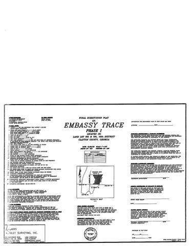 0 Embassy Trce, Riverdale, GA 30296