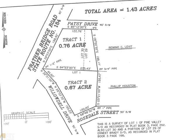 0 Rosedale St, Toccoa, GA 30577