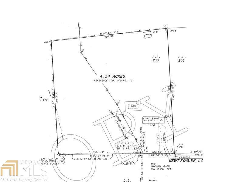 354 Newt Fowler Lane, Canton, GA 30115