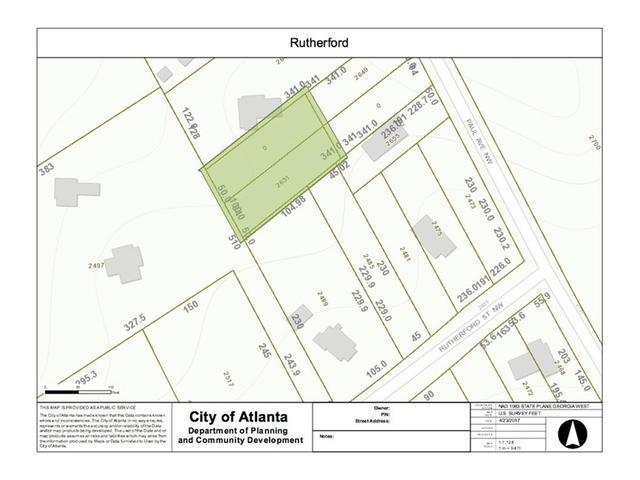 0 Rutherford St NWAtlanta, GA 30318