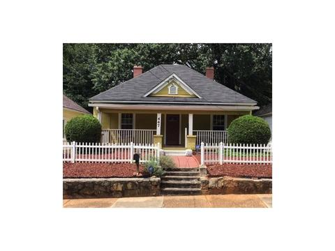Home Park Atlanta GA Single Family Homes For Sale