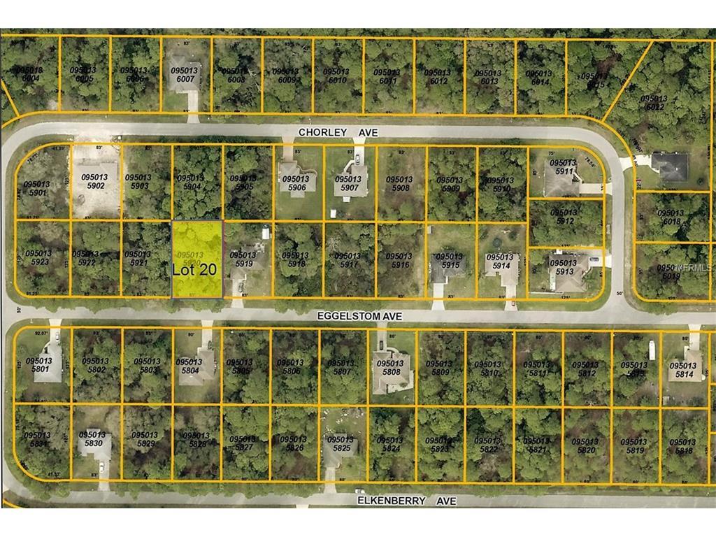 Eggelstom Ave, North Port, FL 34291