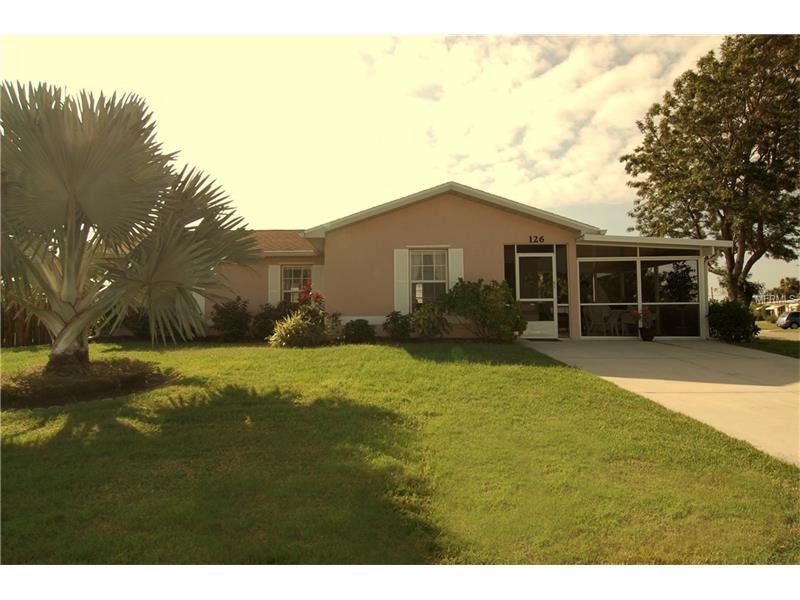 126 Palmetto Cir, Port Charlotte, FL