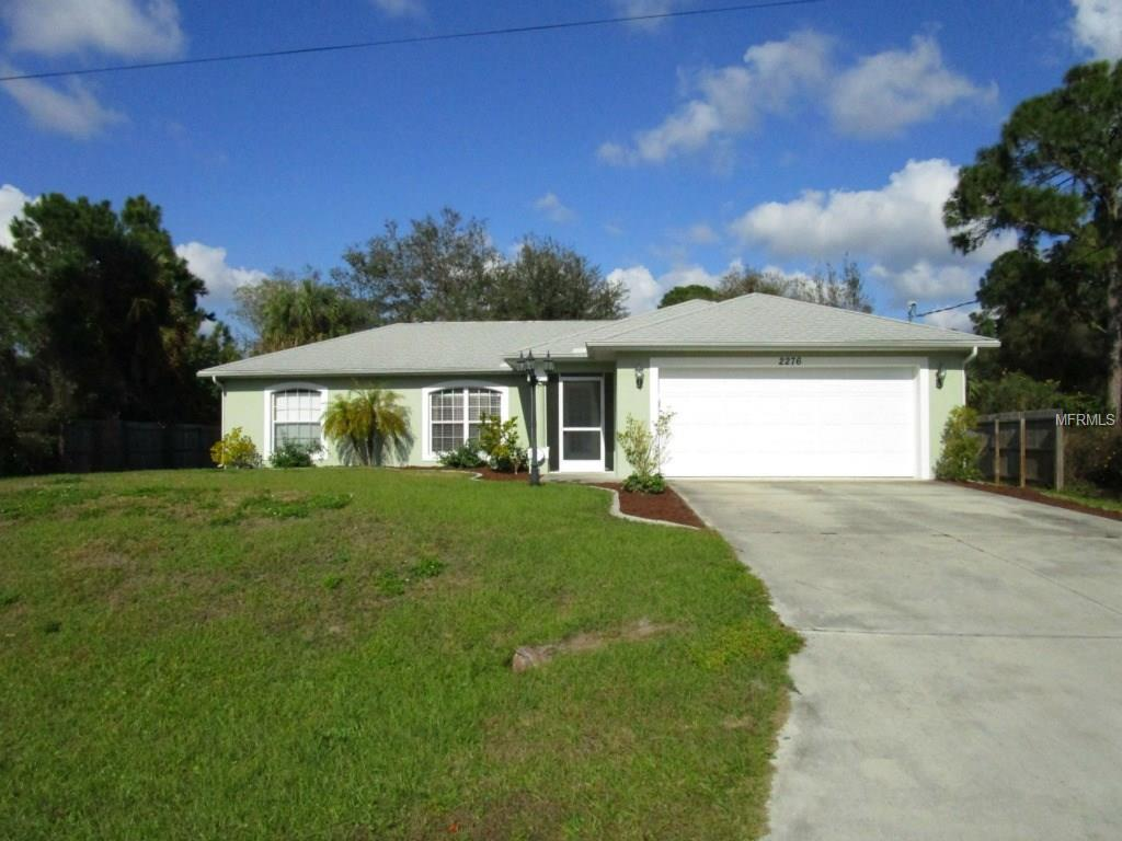 2276 Honey Ln, North Port, FL