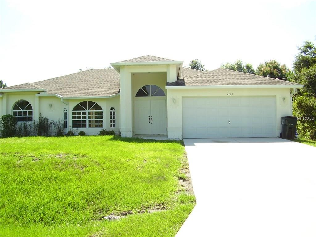 1124 Valentine Street, North Port, FL 34288