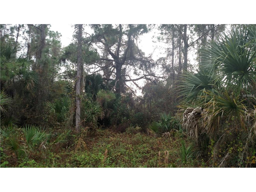Lot 19 Snowflake Lane, North Port, FL 34286