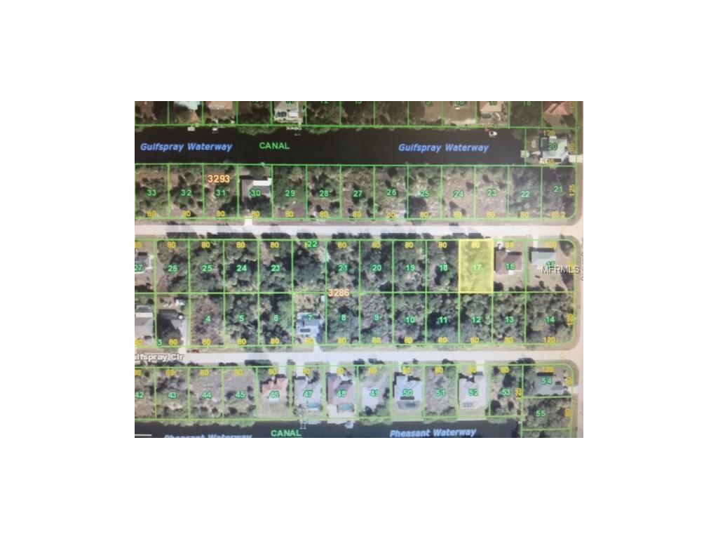 17413 Gulfspray Circle, Port Charlotte, FL 33948
