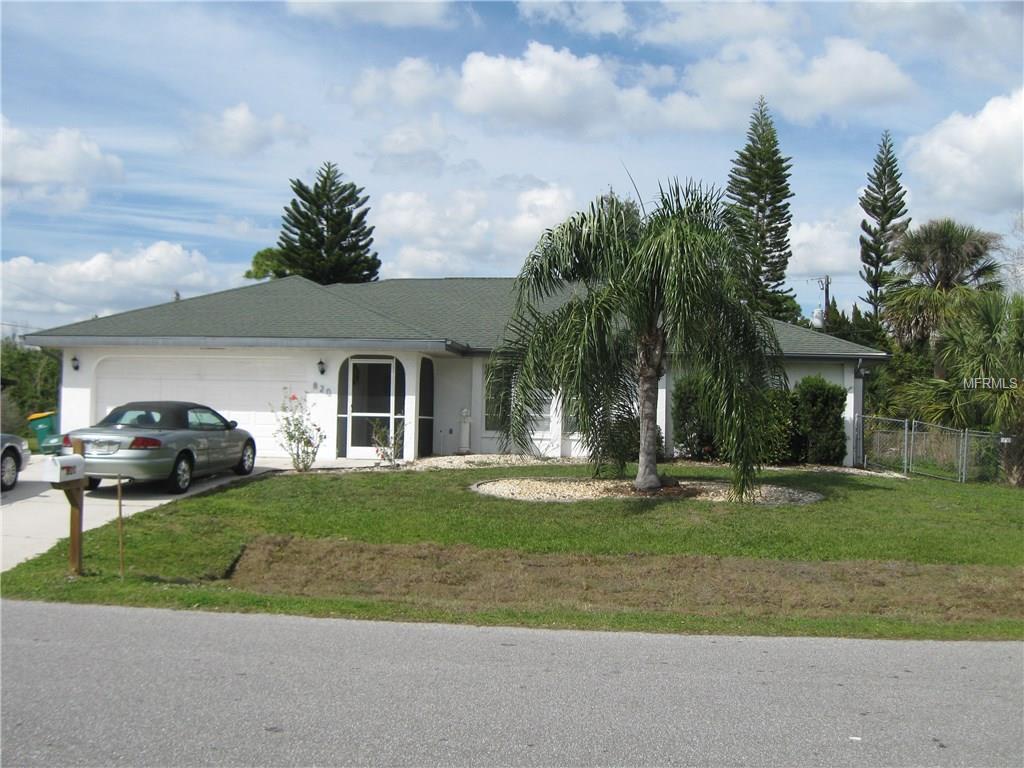 820 Springview Ave, Port Charlotte, FL