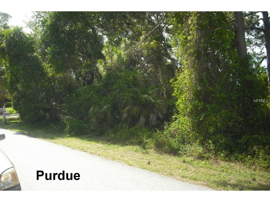 Purdue Road, Venice, FL 34293