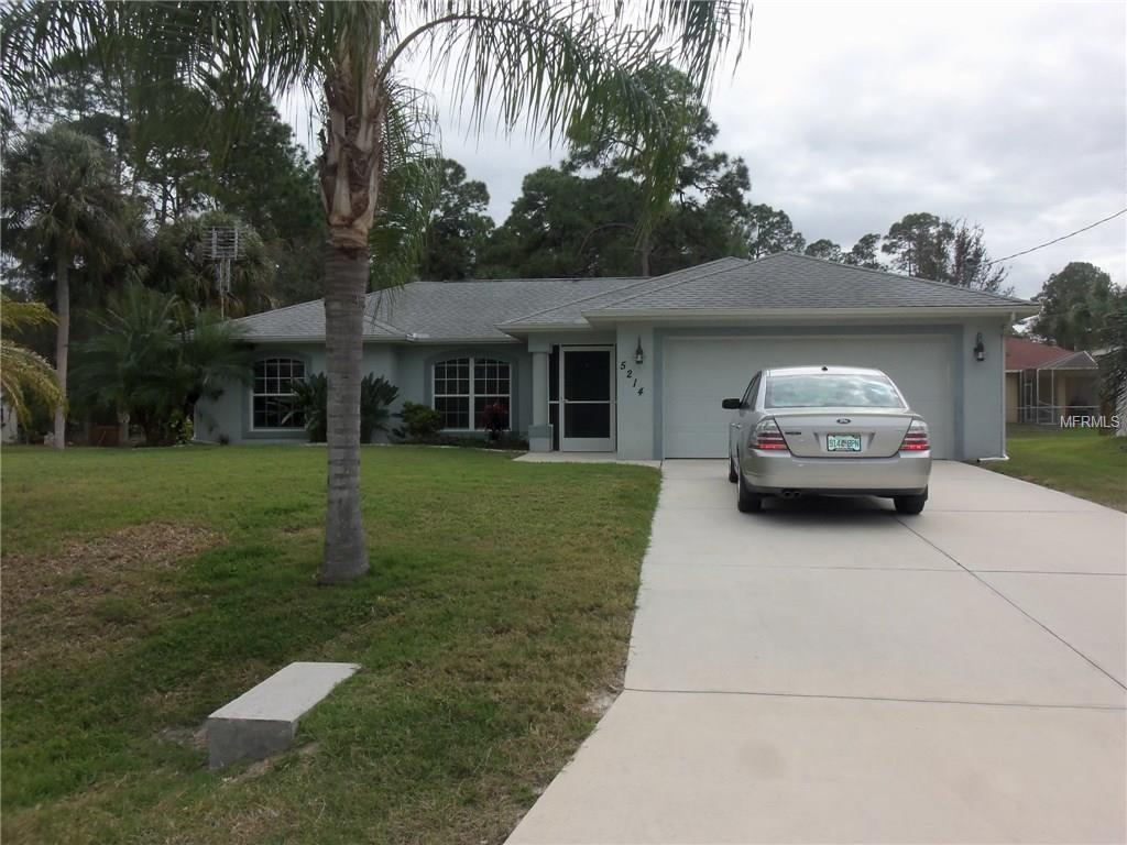 5214 Sister Ter, North Port, FL
