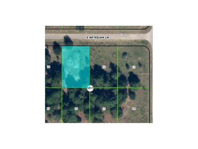 1802 E Artesian Ln, Citrus Springs, FL 34434