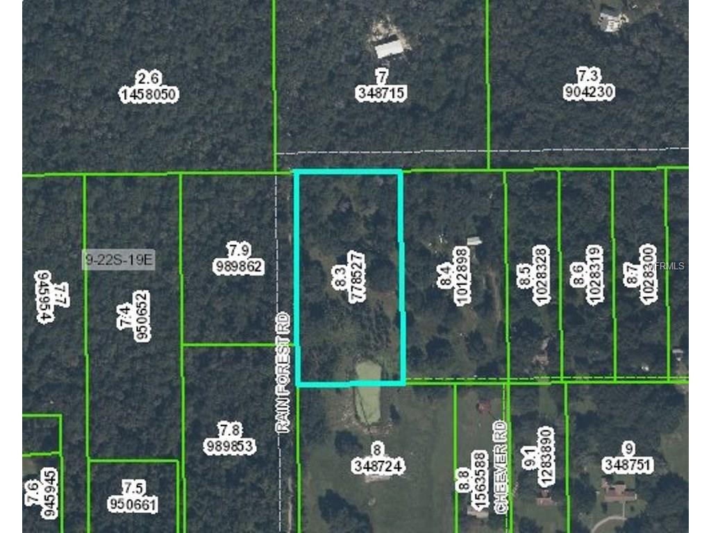 0 Rain Forest Rd, Brooksville, FL 34601