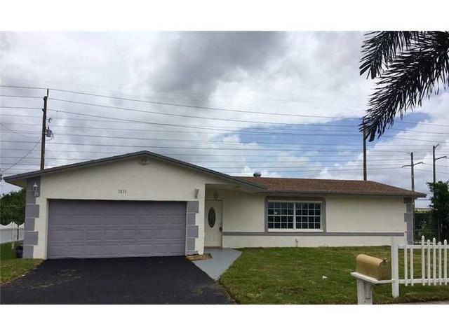 1831 NW 51st Ave Lauderhill, FL 33313