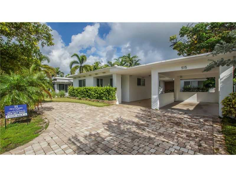 515 Fairway Drive, Miami Beach, FL 33141
