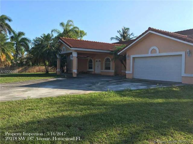 29218 SW 187th Ave, Homestead, FL 33030