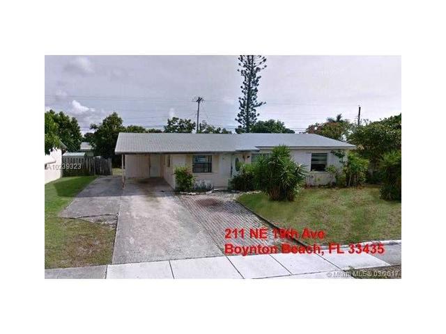 211 NE 19th Ave, Boynton Beach, FL 33435